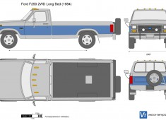 Ford F-250 2WD Long Bed
