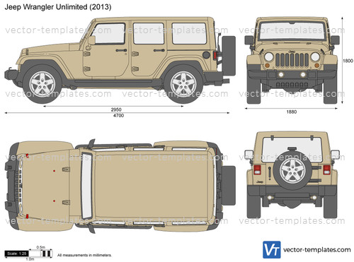 Jeep Wrangler Unlimited 5-Door JK