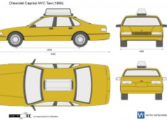 Chevrolet Caprice NYC Taxi