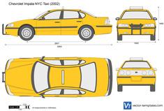 Chevrolet Impala NYC Taxi
