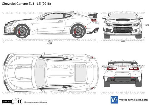 Templates Cars Chevrolet Chevrolet Camaro Zl1 1le