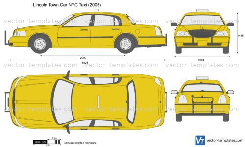 Templates Cars Lincoln Lincoln Town Car Nyc Taxi