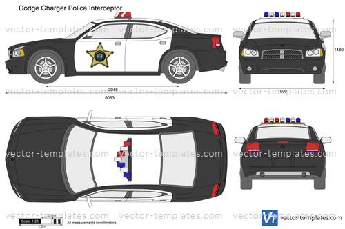 Templates Cars Dodge Dodge Charger Police Interceptor