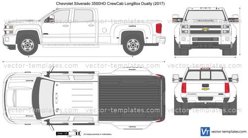 Templates - Cars - Chevrolet - Chevrolet Silverado 3500HD ...