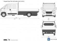 Peugeot Boxer Pick-Up Double Cab L2