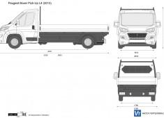 Peugeot Boxer Pick-Up L4