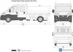 Peugeot Boxer Tipper Double Cab