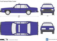 Ford Fairmont Police Cruiser