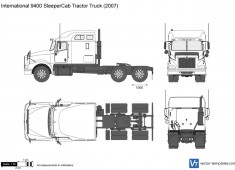 International 9400 SleeperCab Tractor Truck