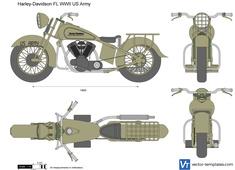 Harley-Davidson FL WWII US Army