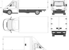 Mercedes-Benz Sprinter Cargo Box