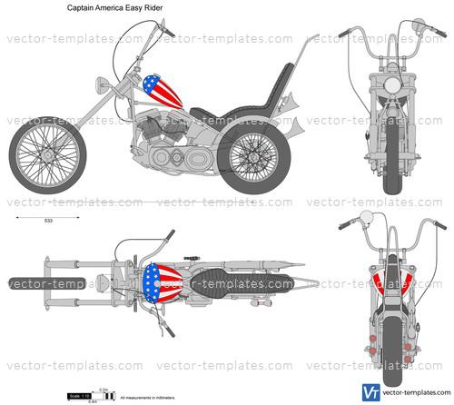 Captain America Easy Rider