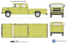 Ford F350 Crew Cab