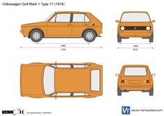 Volkswagen Golf Mark 1 Type 17
