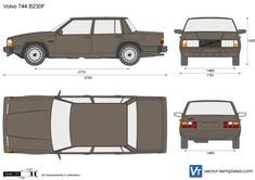 Volvo 744 B230F