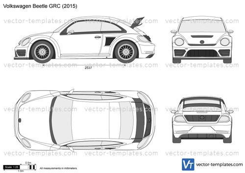templates - cars - volkswagen