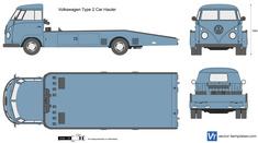 Volkswagen Type 2 Car Hauler