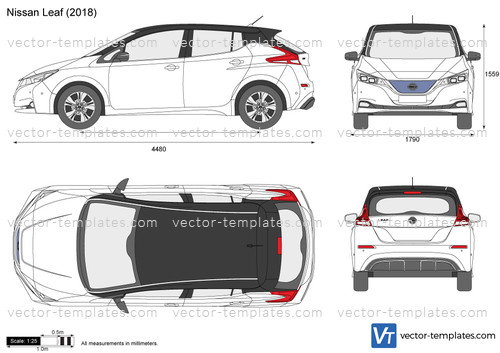 templates cars nissan nissan leaf. Black Bedroom Furniture Sets. Home Design Ideas