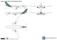 Airbus A330-202 I-EJGA Alitalia