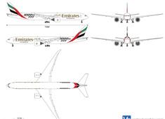 Boeing 777-31H ER Emirates