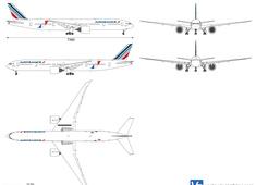 Boeing 777-328 ER F-GSQI Air France