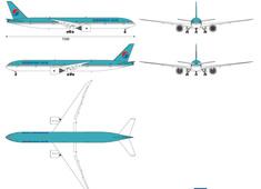 Boeing 777-3B5 ER Korean Air