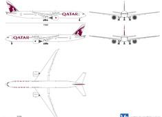 Boeing 777-3DZ ER Qatar Airways