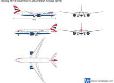 Boeing 787-8 Dreamliner G-ZBJA British Airways