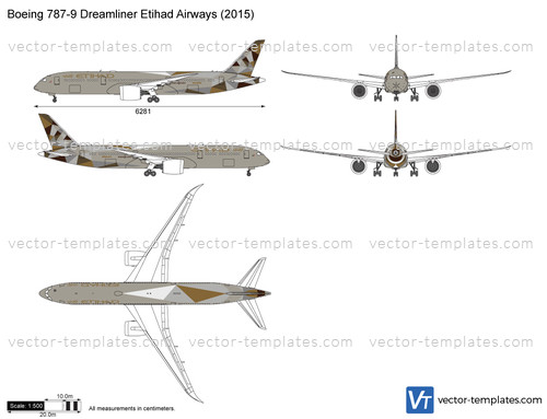 Boeing 787-9 Dreamliner Etihad Airways