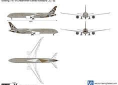 Boeing 787-9 Dreamliner Etihad Airways
