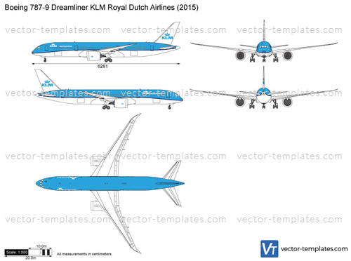 Boeing 787-9 Dreamliner KLM Royal Dutch Airlines