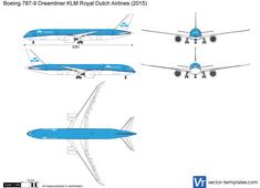 Boeing 787-9 Dreamliner KLM Royal Dutch Airlines