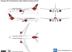 Boeing 787-9 Dreamliner Virgin Atlantic Airways