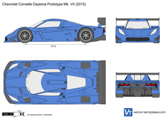 Chevrolet Corvette Daytona Prototype Mk. VII