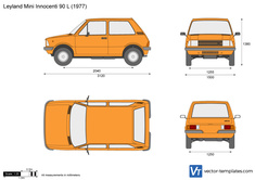 Leyland Mini Innocenti 90 L