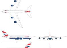 Airbus A380-842 British Airways