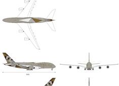 Airbus A380-861 A6-APA Etihad Airways