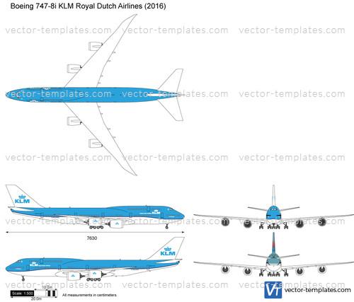Boeing 747-8i KLM Royal Dutch Airlines