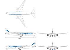 Airbus A350-941 OH-LWA Finnair