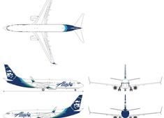 Boeing 737-890 N563AS Alaska Airlines