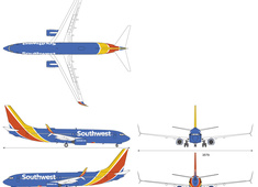 Boeing 737-8H4 Southwest Airlines