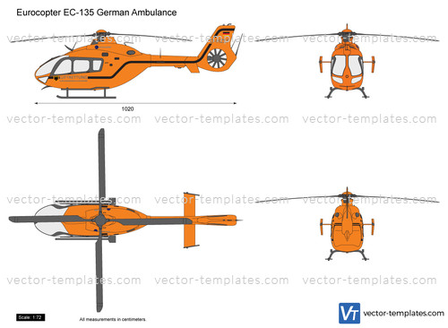 Eurocopter EC-135 German Ambulance