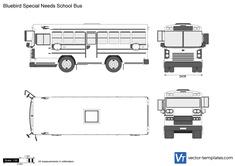 Bluebird Special Needs School Bus