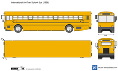 International AmTran School Bus