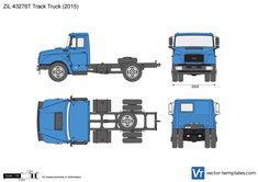ZiL 43276T Track Truck