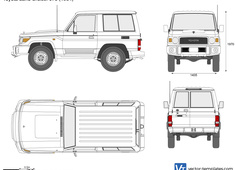 Toyota Land Cruiser J70 SWB