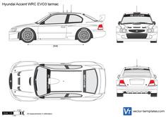 Hyundai Accent WRC EVO3 tarmac