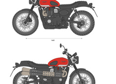 Triumph Speed Scrambler