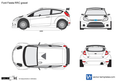 Ford Fiesta RRC gravel