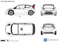 Ford Fiesta WRC tarmac